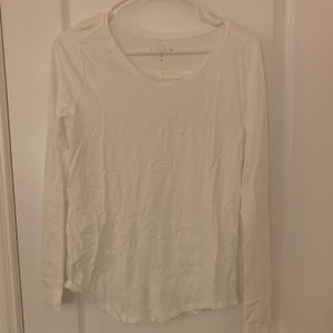 Long Sleeve white loft tee great condition